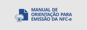 Manual de orientação para emissão da NFC-e.